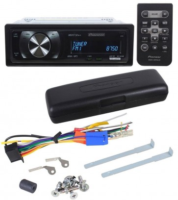 Pioneer DEH-6010MP Car Stereo CD/MP3 Player w/ Remote, OEL Display, 2 Pre-Outs