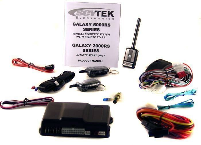 Scytek Galaxy 5000rs 2w 2 Way Lcd Car Alarm Remote Start W 2 2 Way Remotes Audio Savings