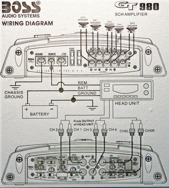 Car 5 Channel Amp Wiring Diagram from www.audiosavings.com