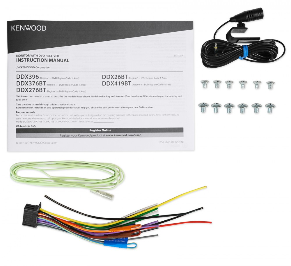 Kenwood Dvd  Iphone  Android  Usb Bluetooth Receiver For 1998