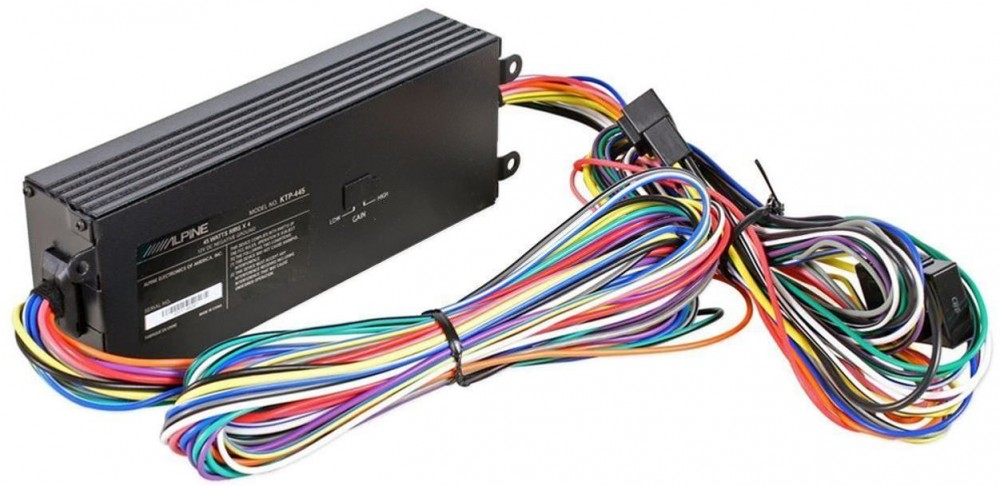 alpine ktp445 power pack amplifier amp for use w