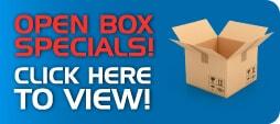 Open Box Specials!